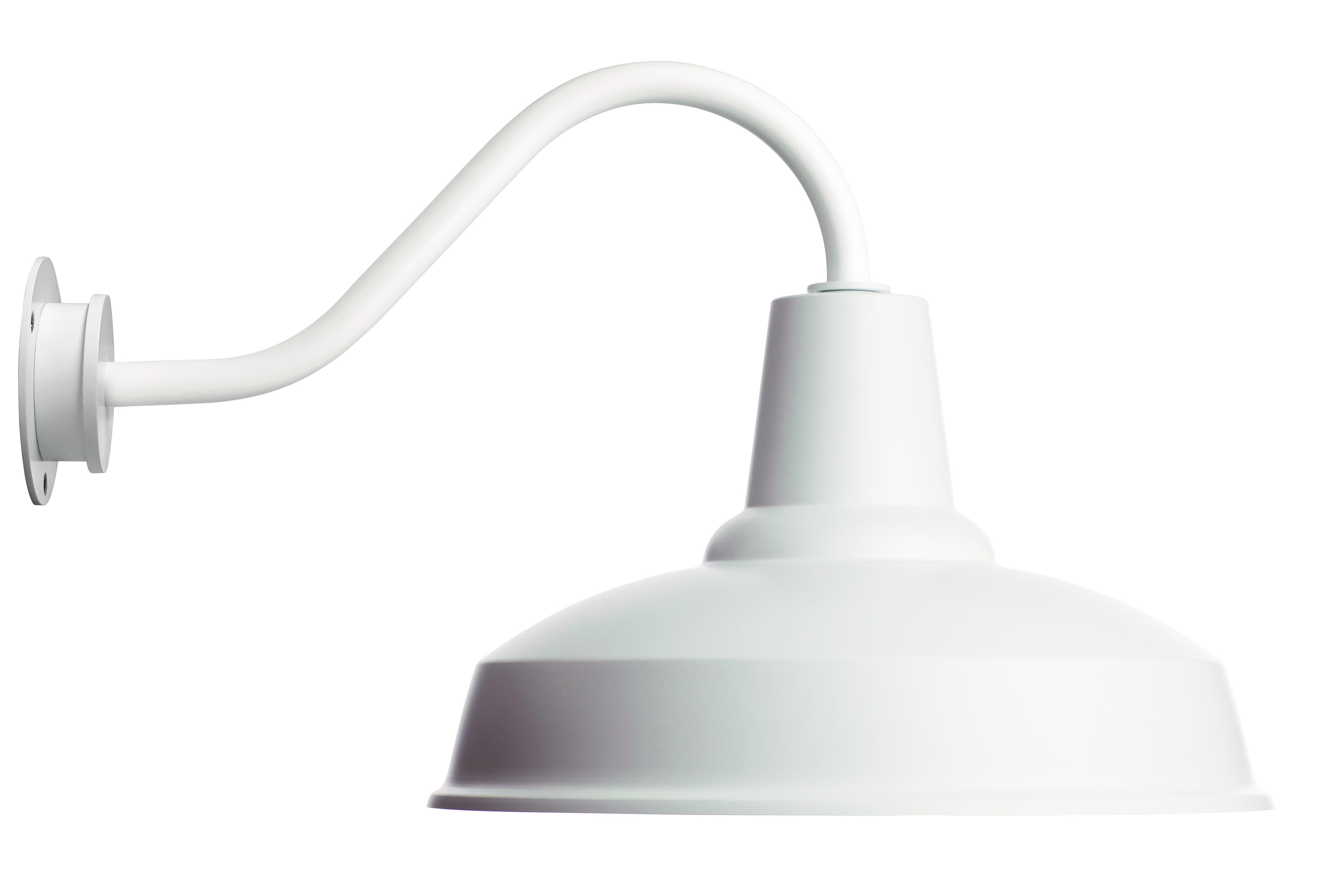 Barn Lamp, white - Eleanor Home